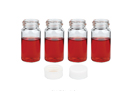 """SciLab-brand® 20㎖ Glass Scintillation Vials, with PE Lined PP Cap Separately, """"Pack-Set"""" with """"USP-I"""" Boro 3.3 Glass, 20㎖ Glass 신틸레이션/카운팅 Vials"""
