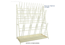 SciLab-brand® Safety PVC Coated Steel Drying Rack with 35- & 70-Pegs, Single/Double-type, Bench-top, 스텐 건조대